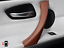 thumbnail 5 - For BMW E90 E91 2004-2012 Door Handle Left Pull Trim Cover Brown 100% Leather UK