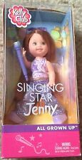 Singing Star Jenny Kelly Club Barbie Doll NRFB All Grown Up Rare 2002 Glitter 02