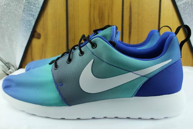 NIKE ROSHE ONE PRINT GAME ROYAL MEN Size: 13.0 NEW RARE AUTHENTIC COMFORT