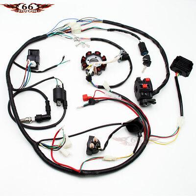 lifan 200cc atv wiring complete electrics atv quad 200 250 300cc cdi coil wiring harness  200 250 300cc cdi coil wiring harness