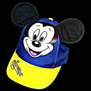 14d60f7c1e3 Image is loading Disney-Parks-Disneyland-Mickey-Mouse-Ears-Baseball-Hat-