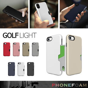 huge selection of b3e4c 075d4 Details about Phonefoam Slim Bult-In Card Slot Pocket ID Holder Cover For  iPhone 7 8 Plus Case