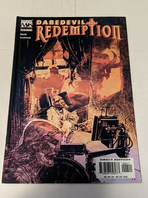 Daredevil Redemption #4 June 2005 Marvel Comics Limited Series