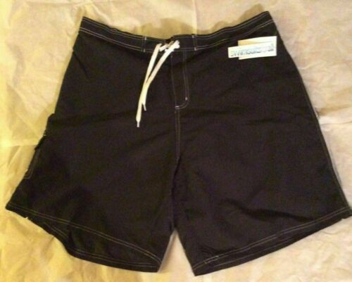 SwimSuits For All Beach Belle BLACK Swim Long Shorts BoardShorts Plus Size *24W
