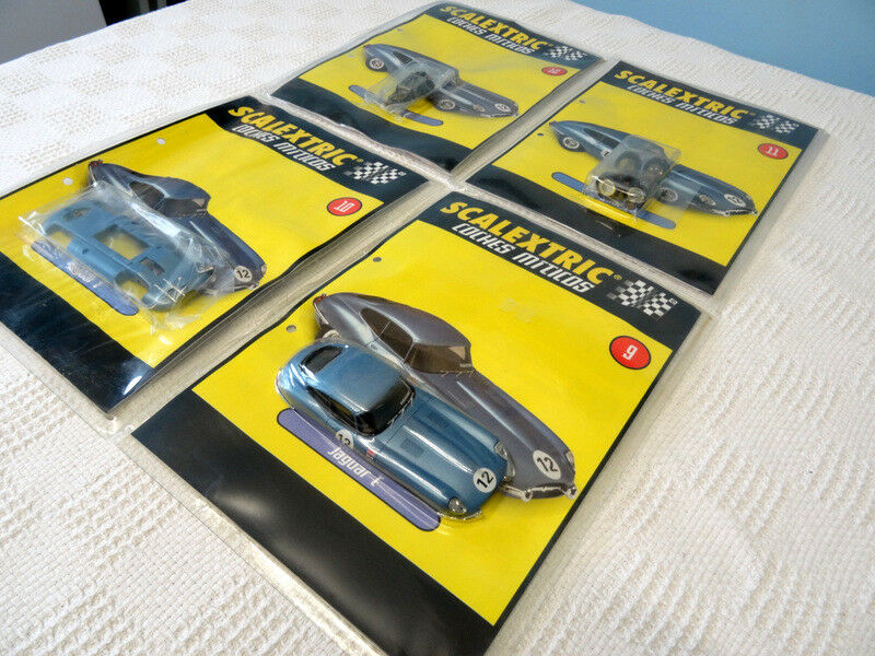 Rare Scalextric Mythical Cars 1 32 Slot Car Jaguar E-Type Coupe 4 part Kit NEW