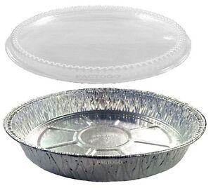 Handi Foil 9 Quot Round Aluminum Foil Cake Pan W Clear Plastic