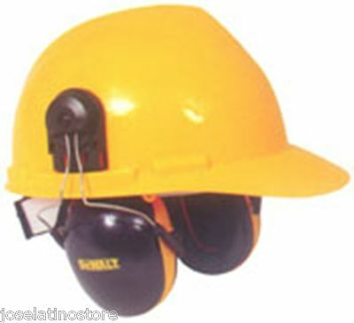DeWALT Interceptor Cap Mount Safety Ear Muffs (NRR 29) Fits Most All Cap Hats