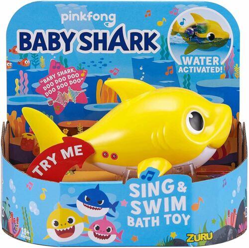 Zuru Robo Alive Bebé Shark Sing /& Nadar Baño Juguete Nuevo Precintado