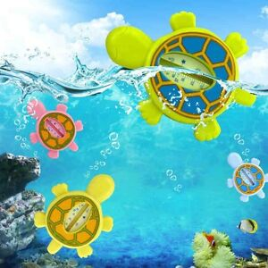 Baby Cartoon Animal Turtle Bath Thermometer Safe Water