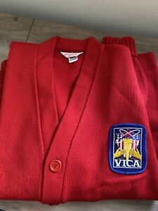 Vintage hatchers mfg usa sweater vica