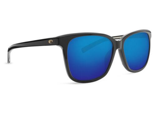 NEW Costa Del Mar May Black /& 580 Blue Mirror Glass 580G MAY 11 OBMGLP