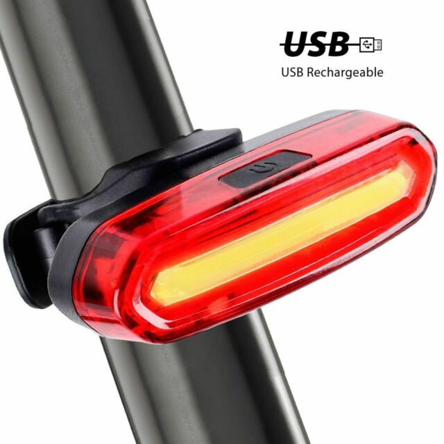 1 Pc Waterproof Red Light Bike Bicycle Red LED Rear Light 3 Modes Tail Lamp