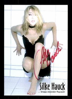 National Musik Sinnvoll Silke Hauck Autogrammkarte Original Signiert ## Bc 109870
