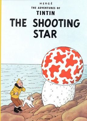 Vintage Tintin The Shooting Star Comic Book Cover Poster A3 Print