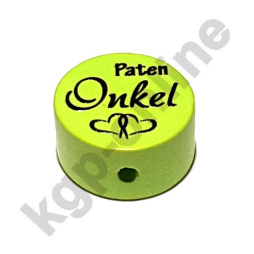 Parrain oncle Motif Disque//Motif Perle//Perle
