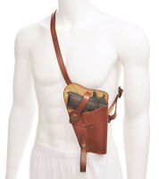 Us Ww2 M3 Colt 1911 45 Shoulder Holster Premium Drum Dyed Leather Marked Jt&l 43