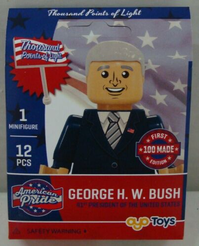 BUSH THOUSAND POINTS OF LIGHT 12 PCS OYO MINIFIGURE FIRST 100 MADE GEORGE H.W