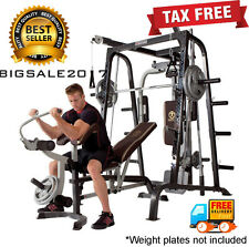 HOME GYM Weight Training Body Muscles Full Fitness SET Machine Exercise MARCY TM