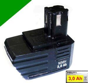 ORIGINAL-Hilti-Pila-9-6V-3Ah-NiMH-SFB-105-SBP10