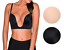 Fullness-Women-039-s-Ultra-Deep-Cleavage-Push-Up-Padded-Low-Cut-Plunge-V-Bra-7018 thumbnail 1