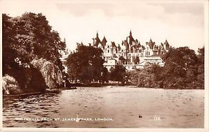 BR80774-whitehall-from-st-james-park-london-real-photo-uk