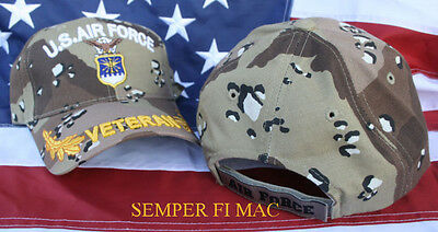 US AIR FORCE VETERAN HAT USAF IRAQ VIETNAM AFB SAC TAC MAC AFGANISTAN WOWAFH WOW