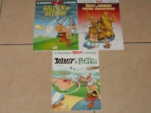 Sammlung-3-X-Asterix-amp-Obelix-Band-33-34-amp-35-ungelesen