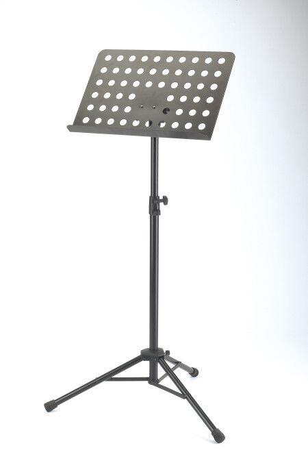 K&m 11940 orchesternotenpult-placa de de de agujero  comprar mejor