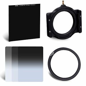 Zomei-Glass-Neutral-Density-ND1000-GND2-GND4-GND8-Filter-Kit-86mm-Ring-Holder