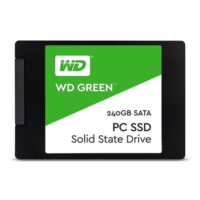 Western Digital WD Green 240GB SATA PC or Laptop Internal Solid State Drive SSD