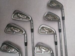 PING ANSER FORGED irons 3 - 9 varilla CFS Acero Regular punto NEGRO - España - PING ANSER FORGED irons 3 - 9 varilla CFS Acero Regular punto NEGRO - España