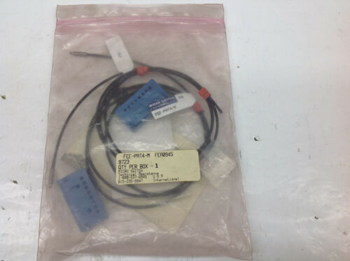 2 Micro Switch FEFPAT4M Photo Switch Sensor Cable. NEW