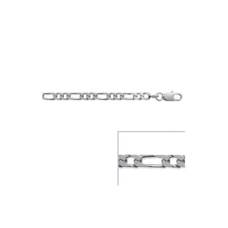 Chaine argento maille figaro 1-2 largeur largeur largeur 3 5mm 895f6e