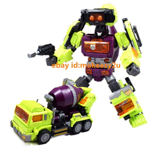 "Oversized Transformers Devastator Robots Action Figure 15/"" Toy New no Box"