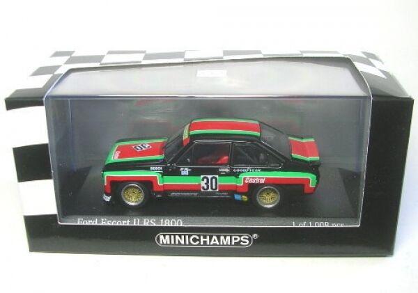 Ford Escort II RS 1800 No.30 DRM Mainz Finthen 1976 Class Winner  | Stabile Qualität