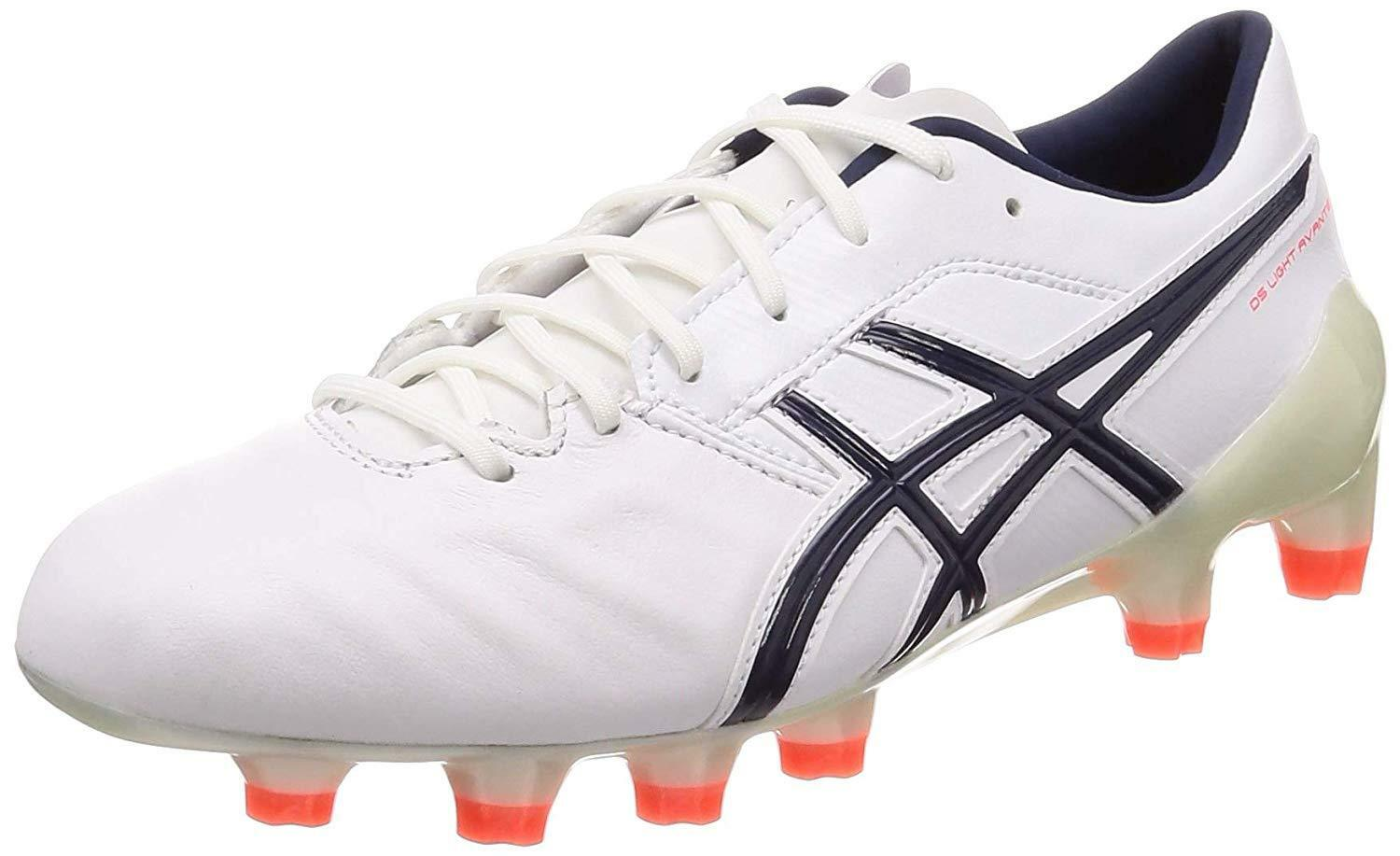 ASICS Football Soccer Spike scarpe DS LIGHT AVANTE 1101A009 bianca US1028cm