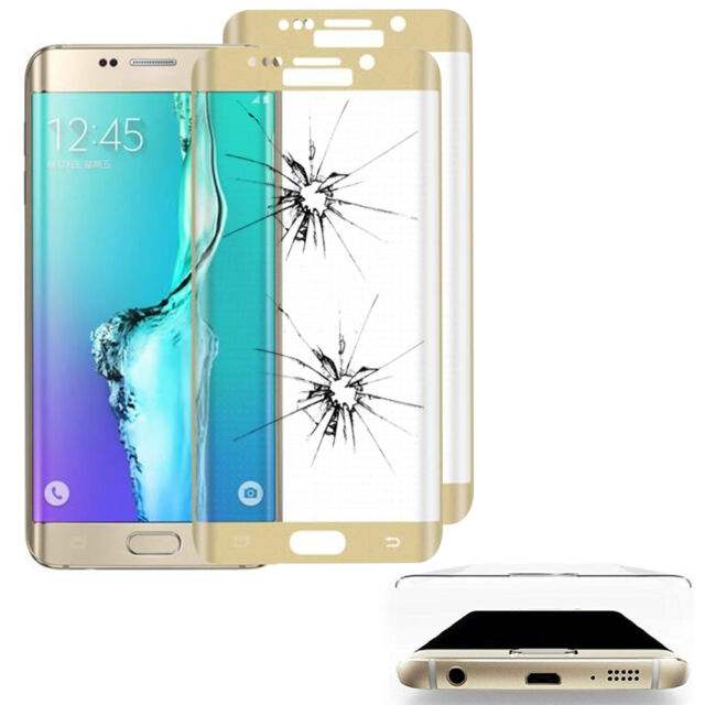 2X Tempered Glass Samsung Galaxy S6 Edge Plus SM-G928F Screen Protector Curve