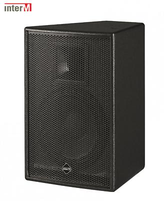 10 Inch 150w 8ohm Two-way Music Cabinet Speaker - Black