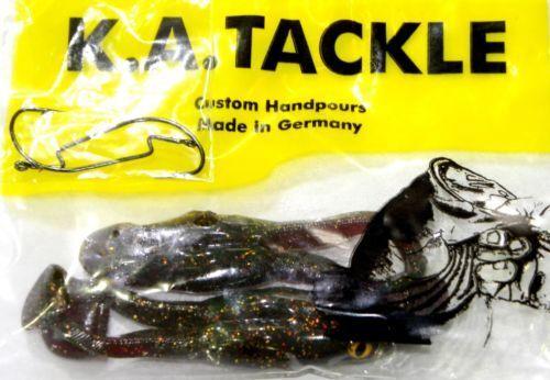 """2 Haken Krautköder 2 Stück Buzz Frog 4/"""" 10cm Frosch Oberflächenköder incl"""