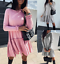 Womens-Party-Holiday-UK-Party-Short-Tops-Baggy-Home-Loose-Ladies-Mini-Dresses thumbnail 1