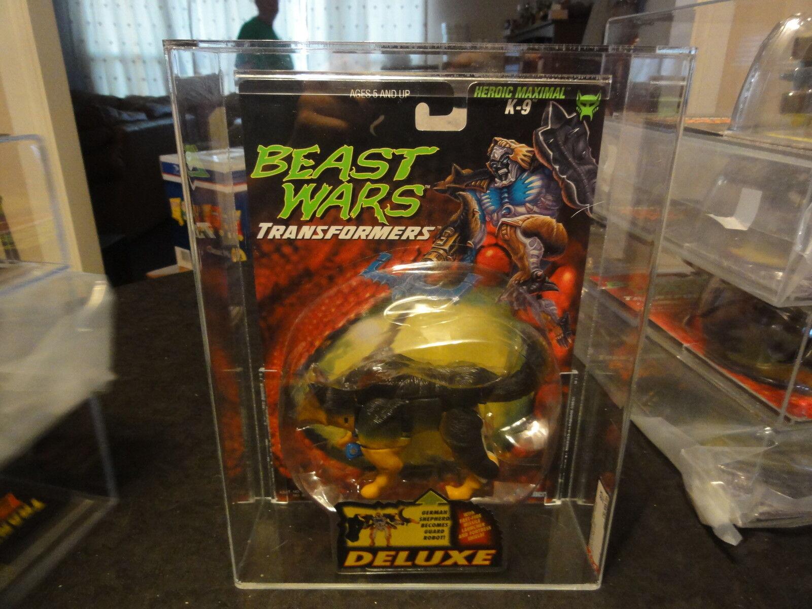 Autoridad Figura De Acción Transformers Beast Wars Deluxe K-9 1997 Caja Sellada MIB