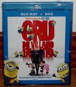 GRU MI VILLANO FAVORITO COMBO BLU-RAY+DVD PRECINTADO NUEVO DIBUJOS (SIN ABRIR)