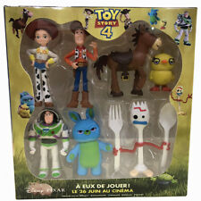 7X Toy Story 4 Character Woody Lightyear Rex Alien Forky Buzz Bunny Figure Doll