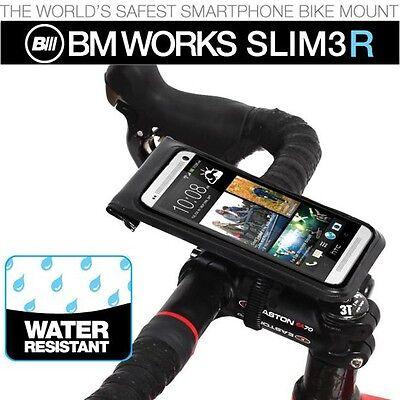 BM Works Slim3 Smartphone Bike Mount Large Screen Size Black Color