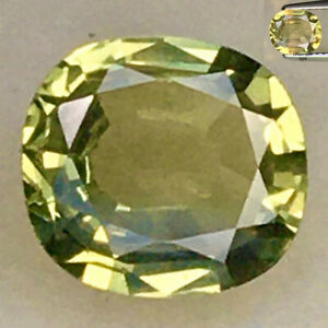 1.10ct AIG CERTIFIED GREEN TO PURPLISH RED NATURAL