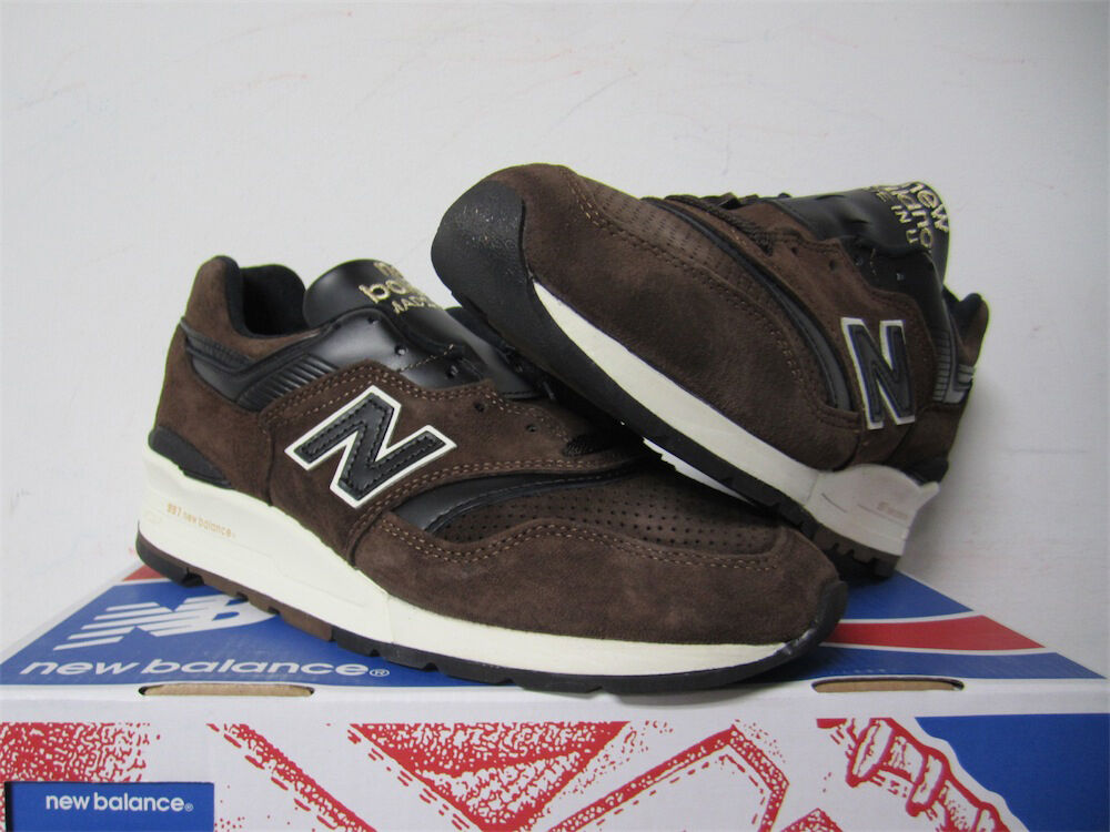 New Balance 997 Made in USA American Authors Brown Sz 6.5 ML997DBR