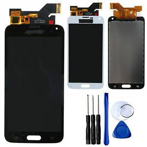 Para Samsung Galaxy S5 i9600 SM-G900F Pantalla LCD Táctil Screen Asamblea +Tools