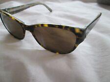 Calvin Klein brown tortoiseshell frame sunglasses. CK4128S. With case