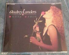 Audrey Landers Monte Carlo 3Tracks Single CD ©91 polydor
