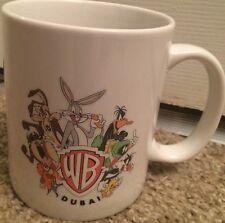 1996 Vintage Warner Brothers Dubai Coffee Mug Bugs Bunny Daffy Duck Looney Tunes